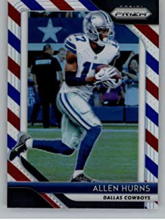 73a3bd75077 2018 Panini Prizm Prizm Red White and Blue Football #149 Allen Hurns Dallas  Cowboys Official