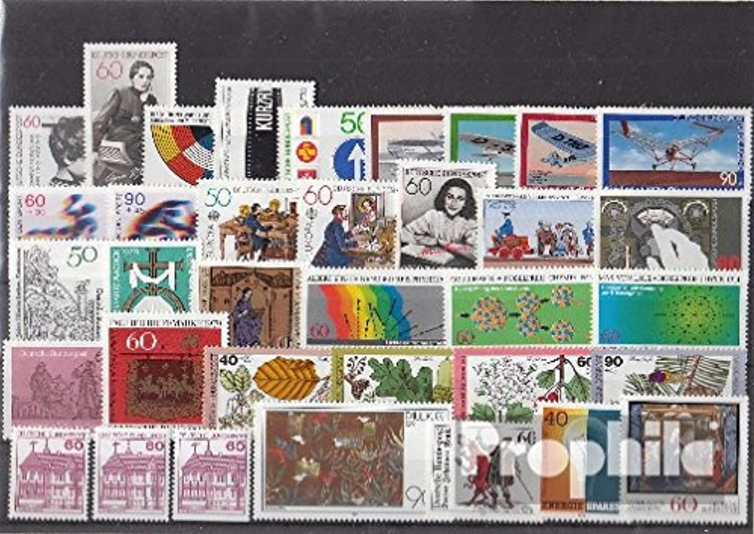 FRD (FR.Germany) 1979 with 1028 C and D Without 1028 II Complete Volume in Clean Conservation (Stamps for Collectors)