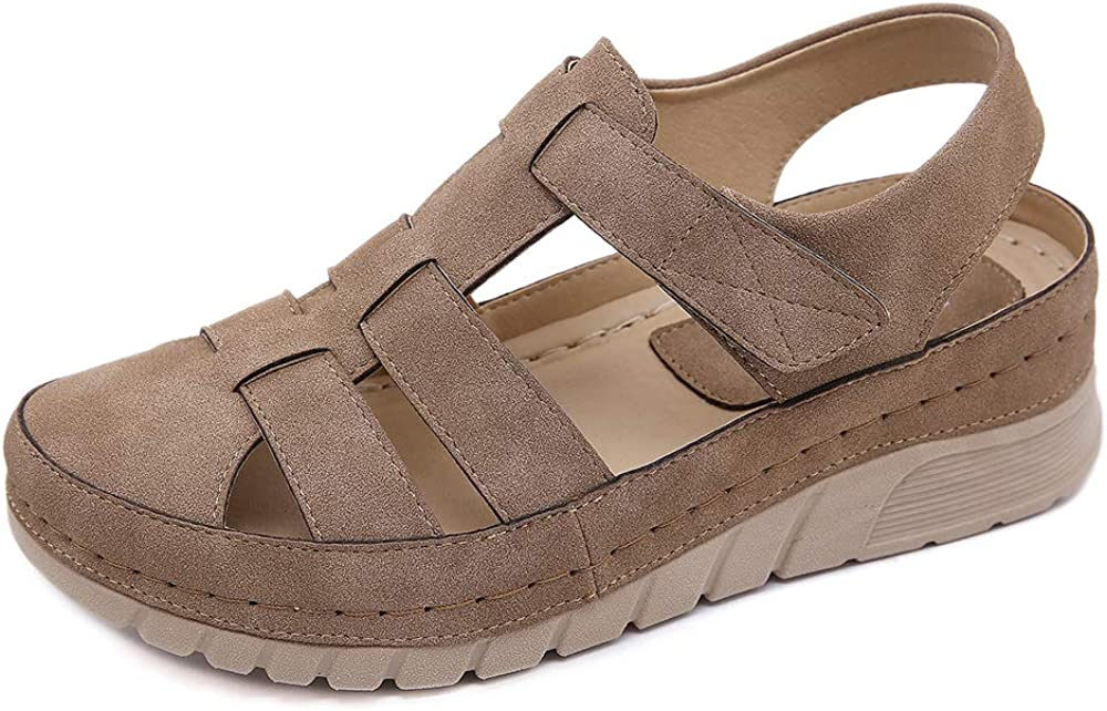 Department store ZAPZEAL Closed Toe Sandals for Wedge Holl Animer and price revision Women Platform