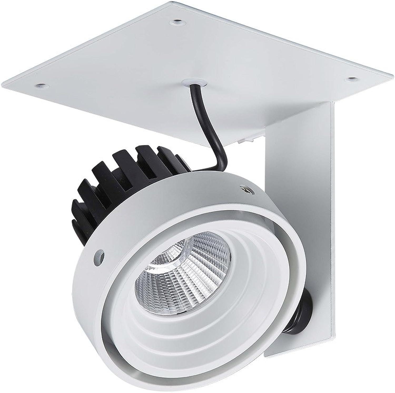 Moderner Strahler LED 1x12W LED Italux GL7118-1 1X12W 3000K WH+BL PATRIZIO