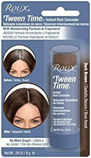 Roux Temporary Haircolor Touch-Up Stick Dark Brown, 1 ea