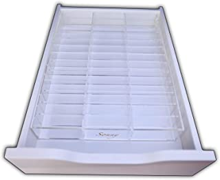 Acrylic Compact Makeup drawer organizer for the Ikea Alex 39 by Sonny Cosmetics