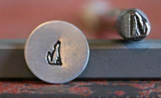 SUPPLY GUY 5mm Single Metal Punch Design Stamp: Southwest, Made in USA (not a set) (COYOTE S-17)