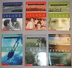 Korman Series for Kids: Island (Book #1-3) : Dive (#1-2) : Titanic Unsinkable Book One (Children Book Sets: Grade 3-6)