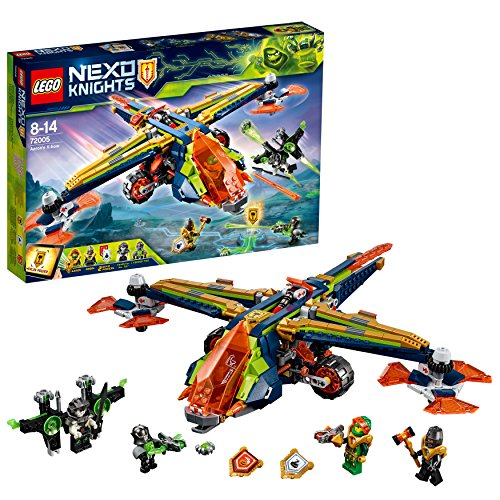 LEGO- Nexo Knights XBow di Aaron, Multicolore, 72005