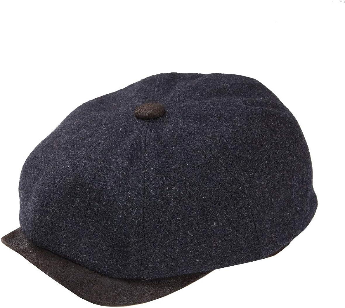 DASMARCA Mens Newspaper Boy Bakerboy Wool Cap