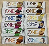 Oh Yeah One Bars Super Variety 12 Pack Includes Maple Donut and Blueberry