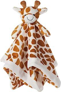 Apricot Lamb Stuffed Animals Security Blanket Giraffe Infant Nursery Character Blanket Luxury Snuggler Baby Lovey (Giraffe...