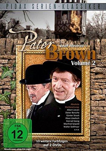 Pater Brown, Vol. 2 - Weitere 13 Folgen der Kultserie mit Josef Meinrad (Pidax Serien-Klassiker) [2 DVDs]