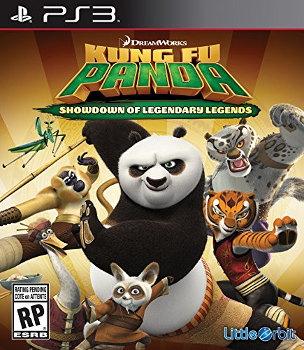 Kung Fu Panda: Showdown Of Legendary LegenDS [Importación Inglesa]