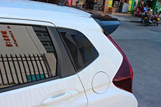 Eppar New Decorative Rear Window Cover for Honda Jazz GK5 2014-2018 (Black)