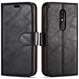 Case Collection Premium Leather Folio Cover for Nokia 4.2