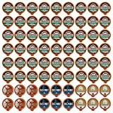 Fresh Roasted Coffee LLC, Organic Sampler Coffee Pod Variety Pack, 12 Varieties, 72 Count