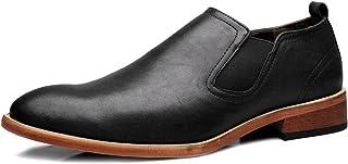[Flova] ローファー スリッポン メンズ靴 ドライビングシューズ サイドゴア ビジネスシューズ 本革 革靴 ウォーキングシューズ 防滑