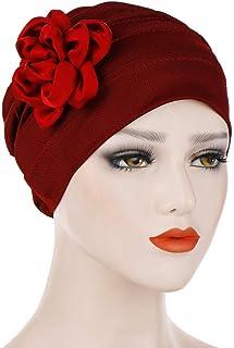 Krebs Cap IPOTCH Frauen Kopftuch Blumen Indische Turban-H/üte Turbanm/ütze Kopfbedeckung Schlafm/ütze f/ür Haarverlust Chemo