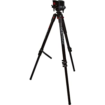 BOG DeathGrip Tripod with Durable, Lightweight, Stable Design, Bubble Level and Hands-Free Operation for Hunting, Shooting and Outdoors