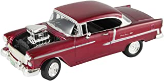 FAIRFIELD COLLECTIBLES 1955 Supercharged Chevy Bel Air - 1:18 Scale - Custom Detailed Die Cast Car