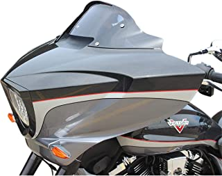 victory cross country windshield
