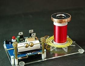 Mini Bobine de Tesla /à autoexcitation 5V 1W pour Bricolage ou exp/érience Physique Mini Bobine de Tesla pour Les exp/ériences de Transmission sans Fil Test Bricolage