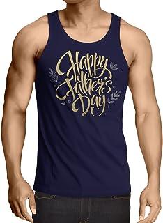 lepni.me 男性用ベスト 父の日お父さん、夫、祖父へのプレゼントに最適。 (M 青 多色)