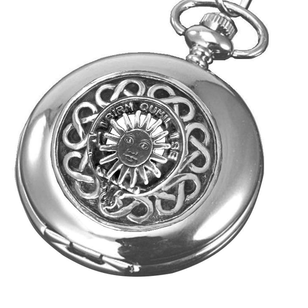 MacLeod Lewis Scottish Silver Clan Crest Stainless Steel Max discount 68% OFF Pocke