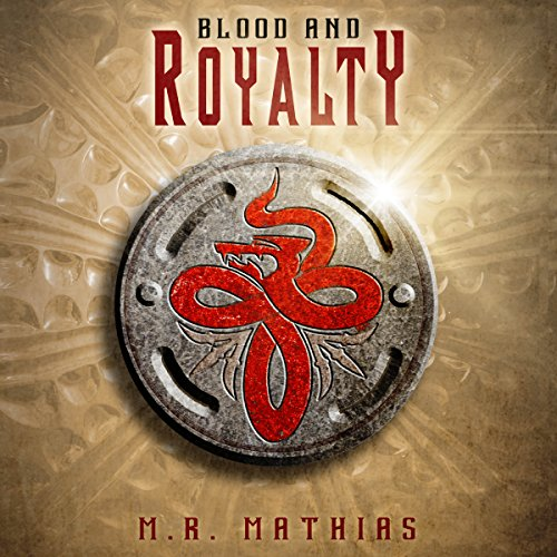 Blood and Royalty audiobook cover art