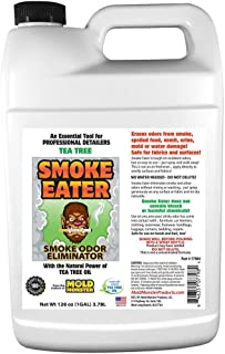 Smoke Eater - Breaks Down Smoke Odor at The Molecular Level - Eliminates Cigarette, Cigar or Pot Smoke On Clothes, in Cars...