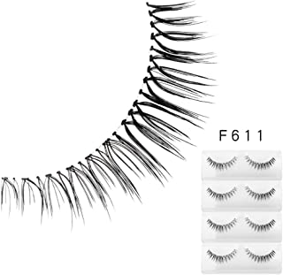 1 Box Luxury 3D False Lashes Fluffy Strip Eyelashes Long Natural Party