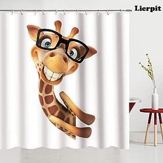 Best giraffe shower curtain Reviews