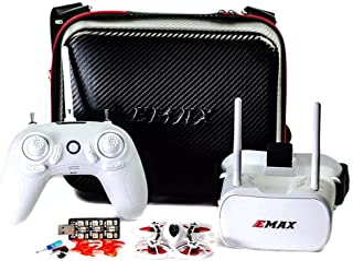 Wpond Emax Tinyhawk Indoor FPV Racing Drone BNF RTF F4 4in1 3A 15000KV 37CH 25mW 600TVL VTX 1S RTF