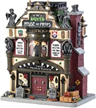 Lemax 4.8 in. H Halloween Spooky Building Lighted The Haunted House of Props