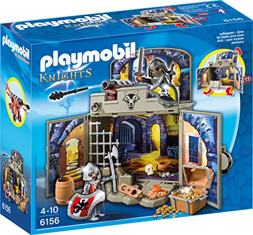"""PLAYMOBIL 6156 - Aufklapp-Spiel-Box """"Ritterschatzkammer"""""""