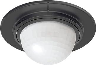 Steinel 32852 inbouw-bewegingsmelder IS 360-1 zwart, 1000 W schakelvermogen, 360° sensor, max. 4 m bereik, geschikt voor LED