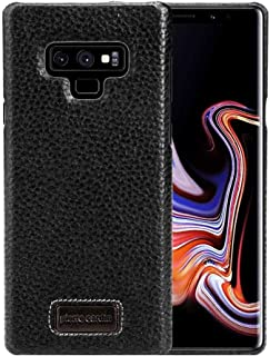 Samsung Galaxy Note 9 Pierre Cardin Leather Back Case Cover - Black