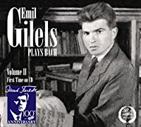 Bach, J.S.: Gilels Plays