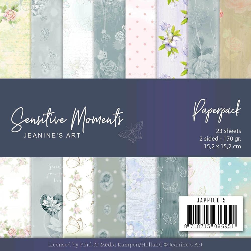 Louisville-Jefferson County Mall Soldering Jeanine's Art JAPP10015 Sensitive Moments 6 Paper Pad x