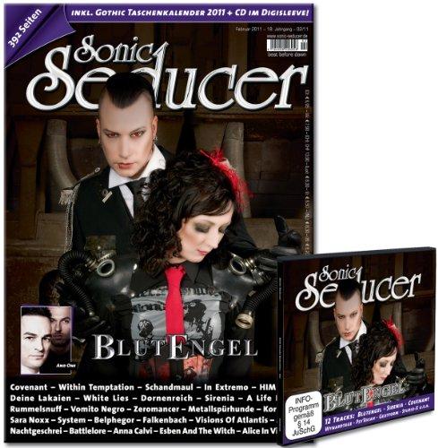 Sonic Seducer 02-11 inkl. Gothic Taschenkalender 2011 mit insgesamt 392 Seiten + Cold Hands CD im...