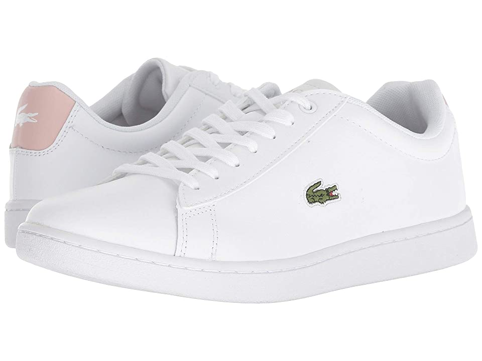 Lacoste Hydez 318 2 P (White/Light Pink) Women