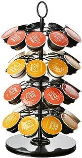 W&Z Soporte para cápsulas de café Soporte para cápsulas de café Soporte para Torre de cápsulas rotativas para 36 cápsulas de café Nespresso Dolce Gusto