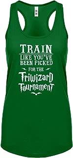 Train for Triwizard Tournament Womens Racerback Tank Top