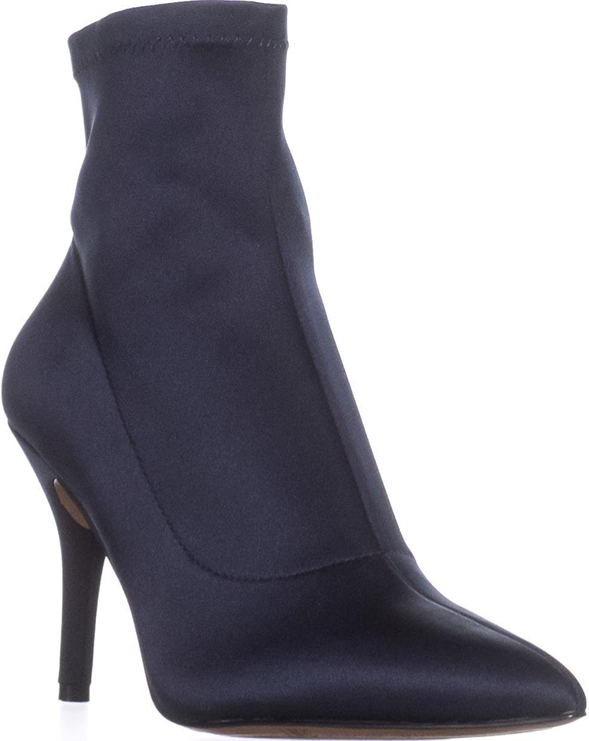 I35 Zete Pull-On Ankle Booties, Storm bluee