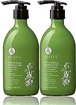 Luseta Macadamia & Argan Oil Shampoo & Conditioner Set, Rejuvenating & Moisturizing Hair, 2 x 16.9 Oz (New Package)