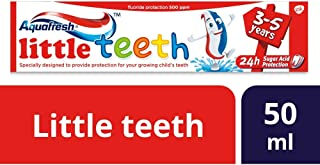 Aquafresh Kids Toothpaste, Little Teeth Toothpaste for Children 3-5 Years, 50 ml