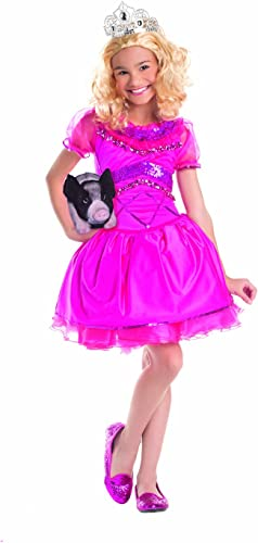 Party King rotneck Pageant Princess Costume, 12-14
