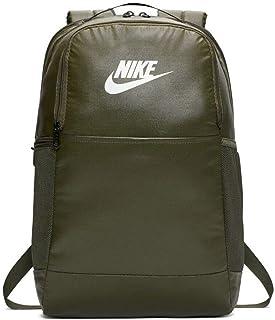 حقيبة ظهر نايكي كاجوال 24 لتر، كاكي/كارجو كاكي/أبيض (BA6124-325)، 15 بوصة