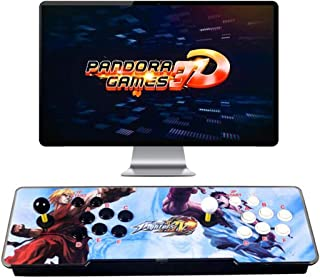3D Pandora Games Arcade Game Console - 4018 Games Installed, WiFi Function to Add More Games, Support 3D Games, Search/Sav...