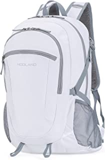 NODLAND Light Weight Backpack Hiking 45L Foldable Water-Resistant Daypack Packable Hydration Rucksack