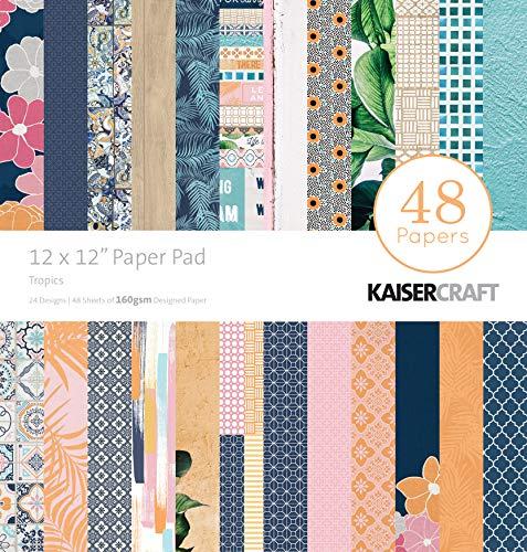 Kaisercraft Papierblock, 30,5 x 30,5 cm, 48 Stück, Basislack