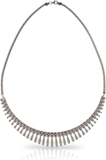 2a2b9deeaed3 SilverLuxe Sterling Silver Collar Style Cleopatra Necklace