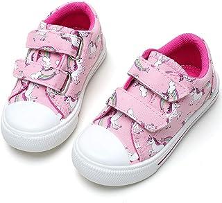 Toddler Boys & Girls Slip On Canvas Sneakers
